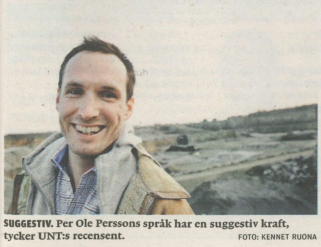 Bildtext Jaco - Uppsala Nya Tidning