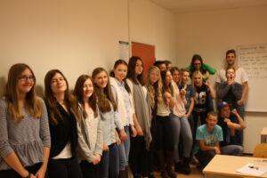 Fotboll och skrivande på Vannhögskolan i Trelleborg