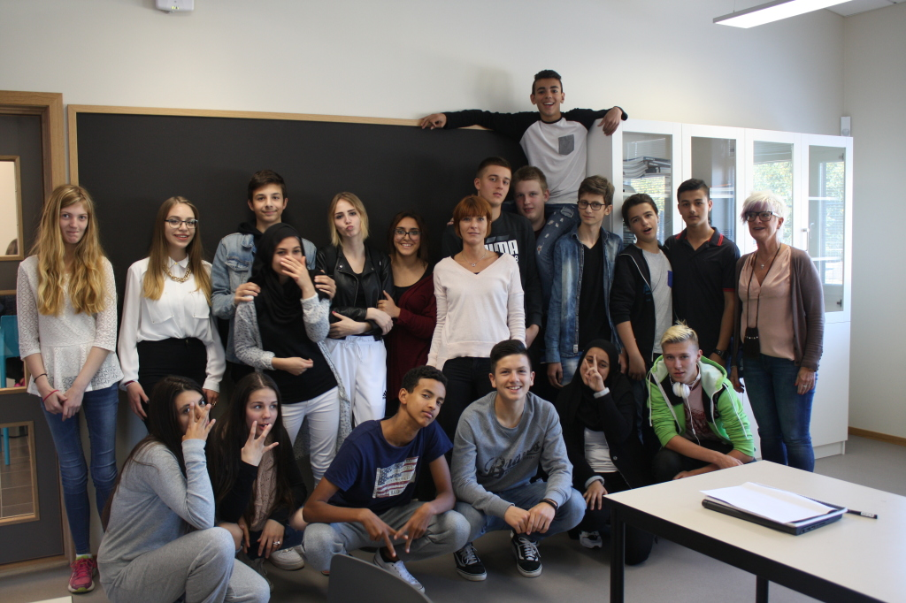Känslosam uppläsning på Pilevallskolan i Trellborg