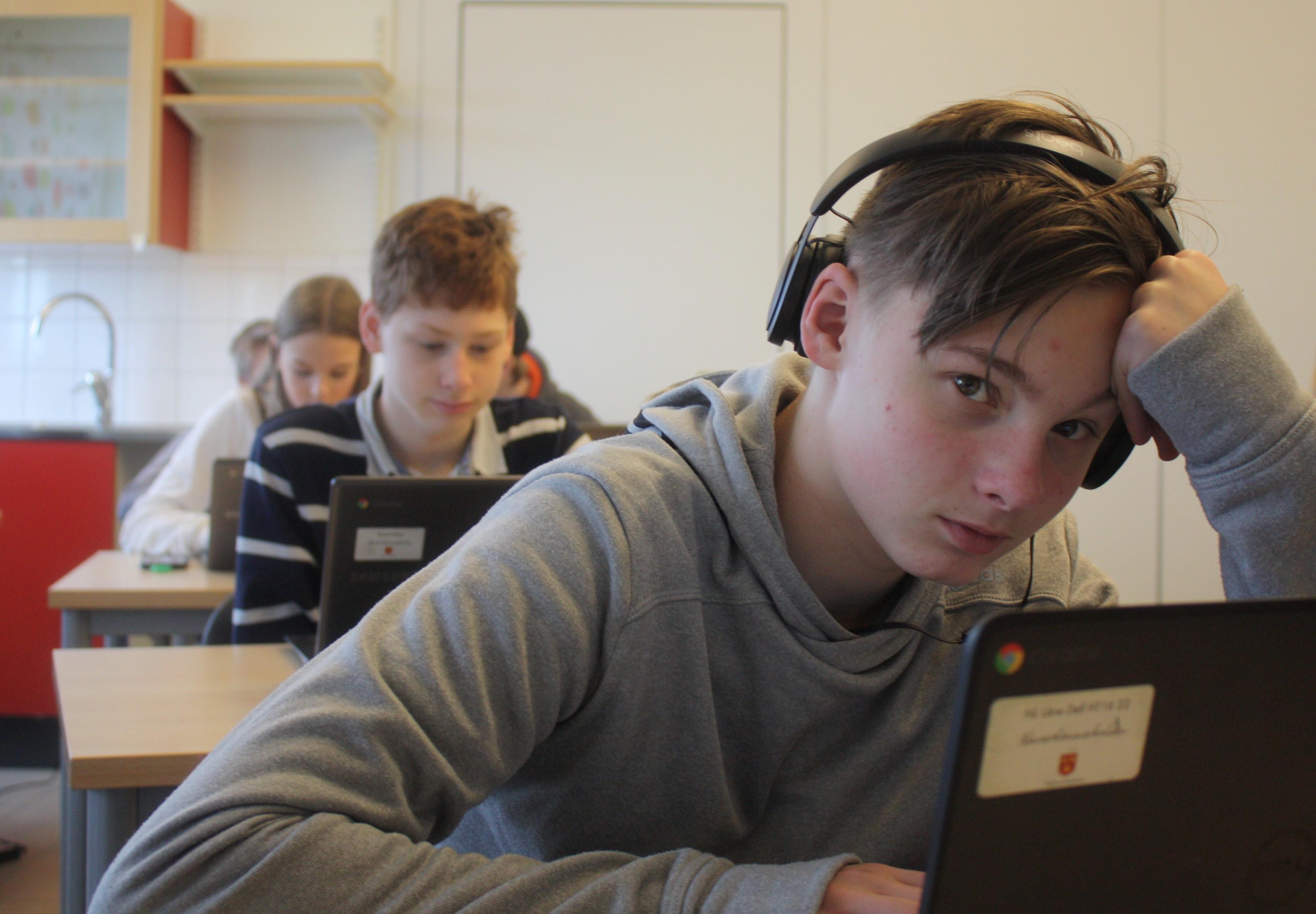 Skrivrytm på Naverlönnskolan i Svedala