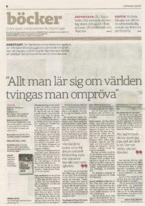 Intervju - Svenska Dagbladet