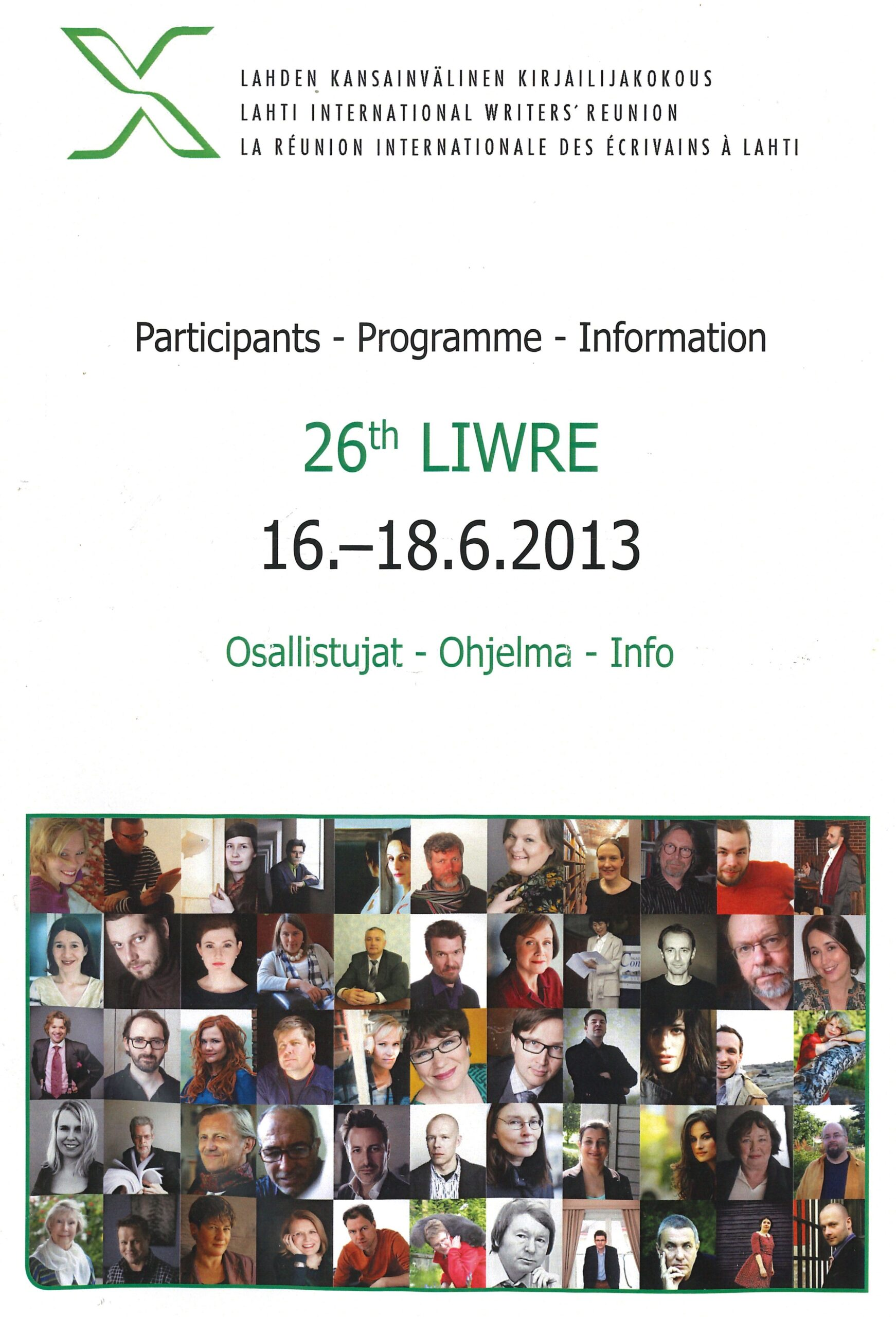 Lahti International Writers' Reunion