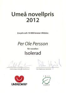 Umeå Novellpris
