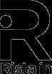 Rista in - svart logotyp